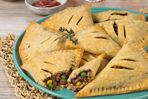 Ground Sirloin Pasties - Kidney-Friendly Recipes - DaVita