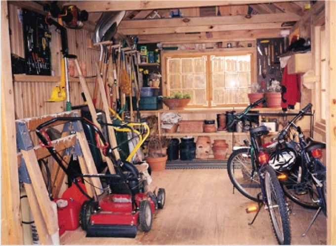 10 Best Images About Shed Storage Ideas On Pinterest
