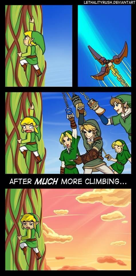 That's just sad, none of Link's Fellow Brothers wanted to help him out. What a shame! :(