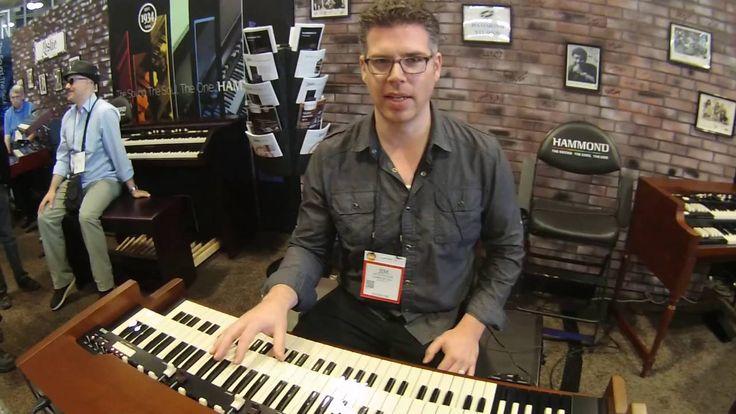 Summer NAMM 2016 - Hammond XK 5 Organ Demo with Jim Alfredson