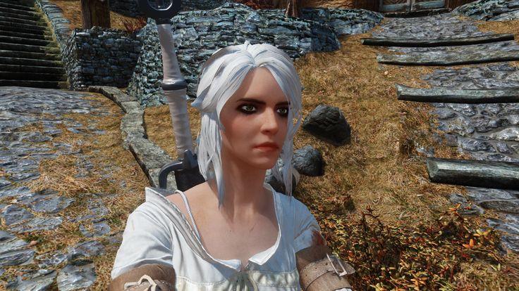 Cirilla (Ciri) Fiona Elen Riannon - Witcher 3 Voiced Follower