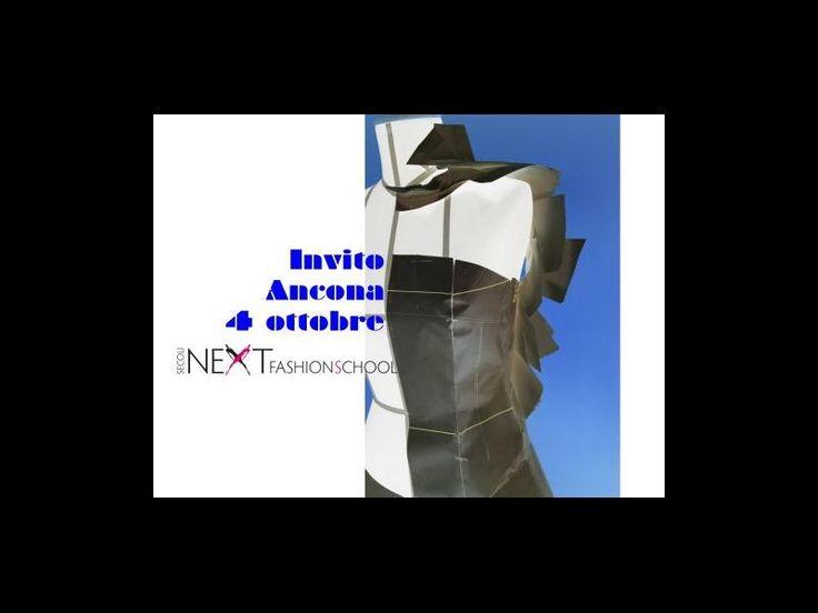 Invito: Ancona 4 Ottobre! | Next Fashion School -Scuola di Moda che prepara stilisti, modellisti e professionisti del Fashion System