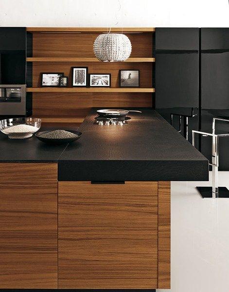 Cucina in teak YARA - COMPOSIZIONE 6 by Cesar Arredamenti design ...