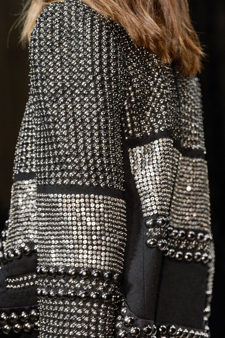 Isabel Marant - Fall, 2013 ~    Black and white glam!