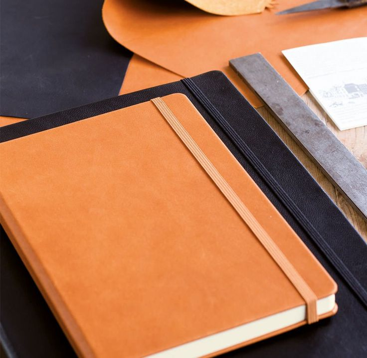 Læderindbundne notesbøger fra Leuchtturm1917