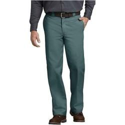 Dickies Herren Chino Stoff Hose Arbeitshose Original Fit Straight Leg Work Pantsilver Grey W28/l30 D