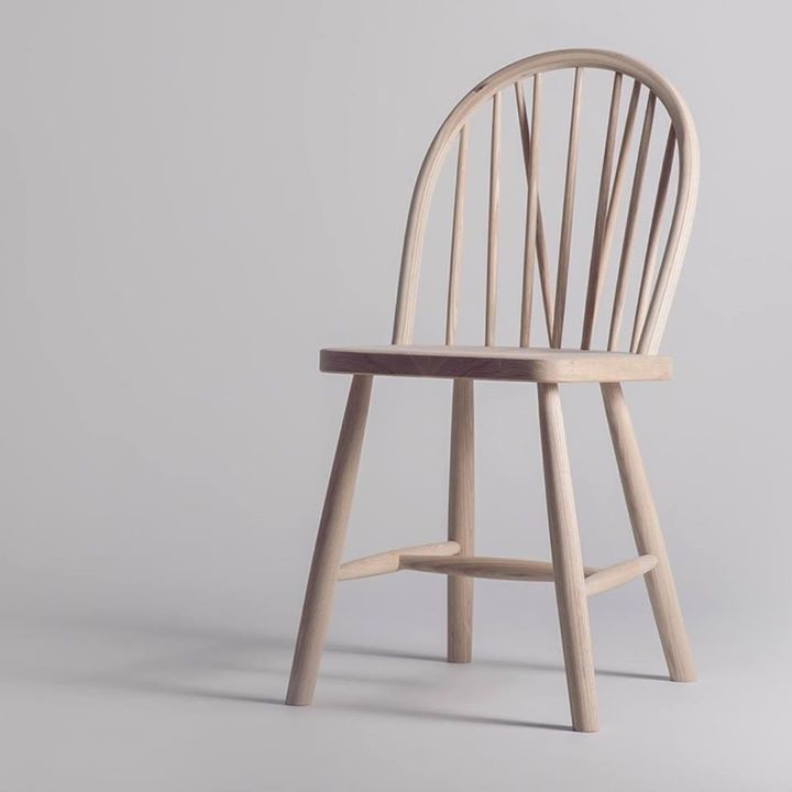 BUDALSTOLEN is a modernized paraphrase of a traditional Norwegian folk chair, which was made in countless varieties by farmers from Budal, since the beginning of the 1800´s (Design: Ole Petter Wullum)