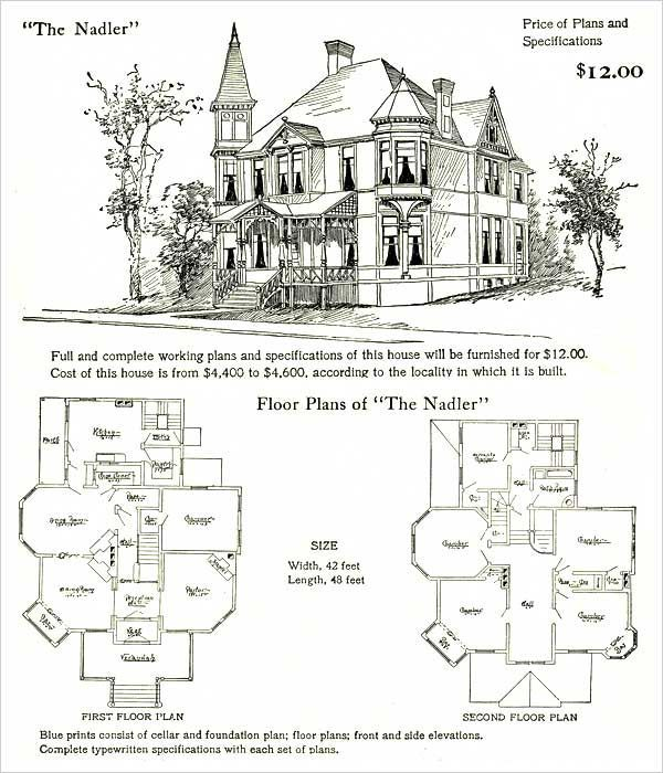Queen Anne Home Plans On My To Do List Victorian House Plans House Plans Vintage House Plans