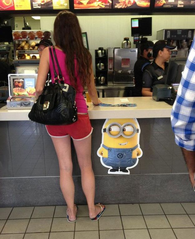 They're everywhere. | 24 Times People Took Their Love For Minions Way, Way Too Far