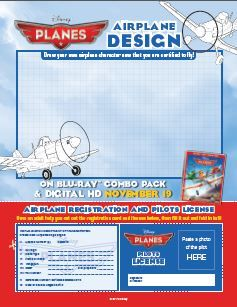 Disney Planes Airplane Design