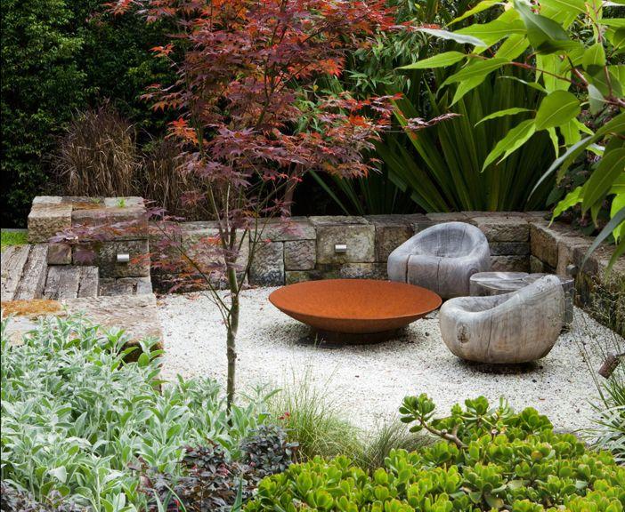 carex garden design by carolyn mullet designed by australian firm peter fudge gardens