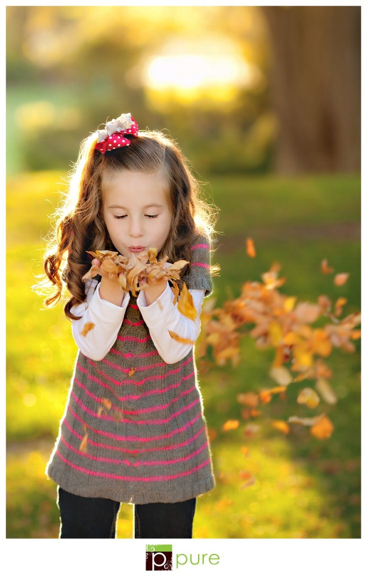 Gorgeous. How perfect for autumn! #photography #children