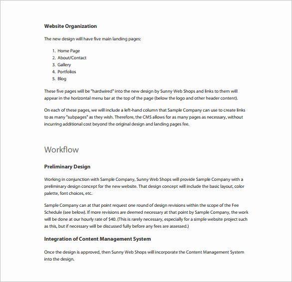 Template For Job Proposal New Employment Proposal Template Job