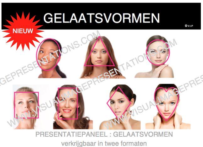 gelaatsvormen - face shapes www.visualimagepresentations.com