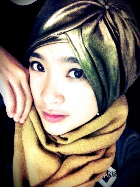 Metalic turban
