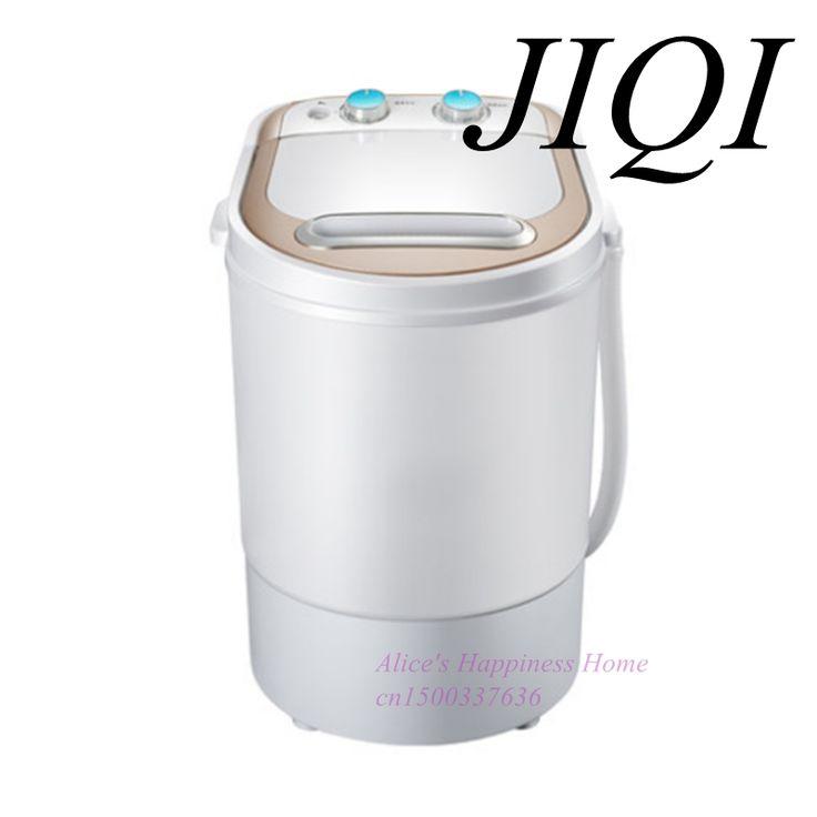 Mini semi-automática lavadora doméstica pequeña solo barril lavadora con cilindro de secado