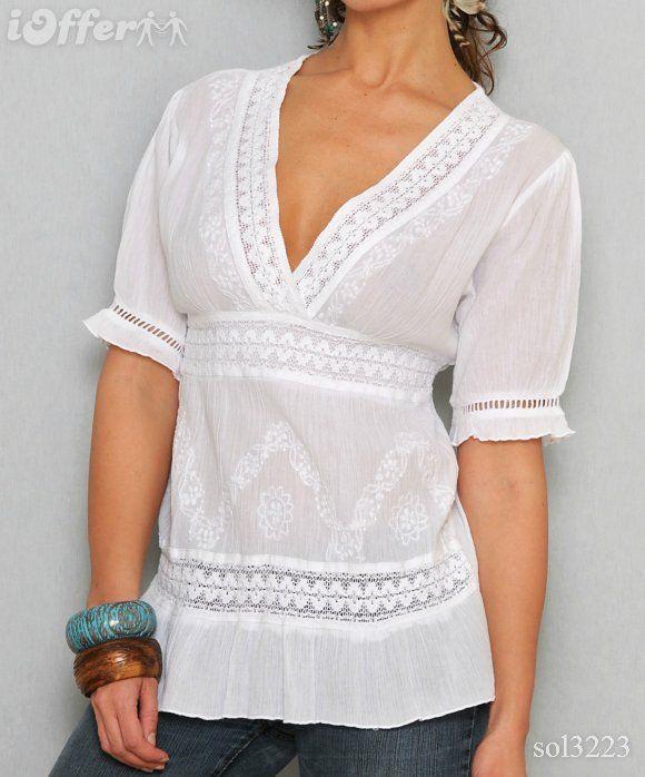 blusas bordadas -