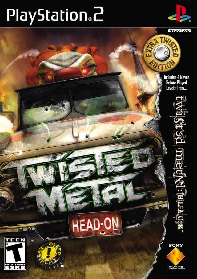 Twisted Metal: Head On [PAL] [Español] PS2 | video games | Twisted