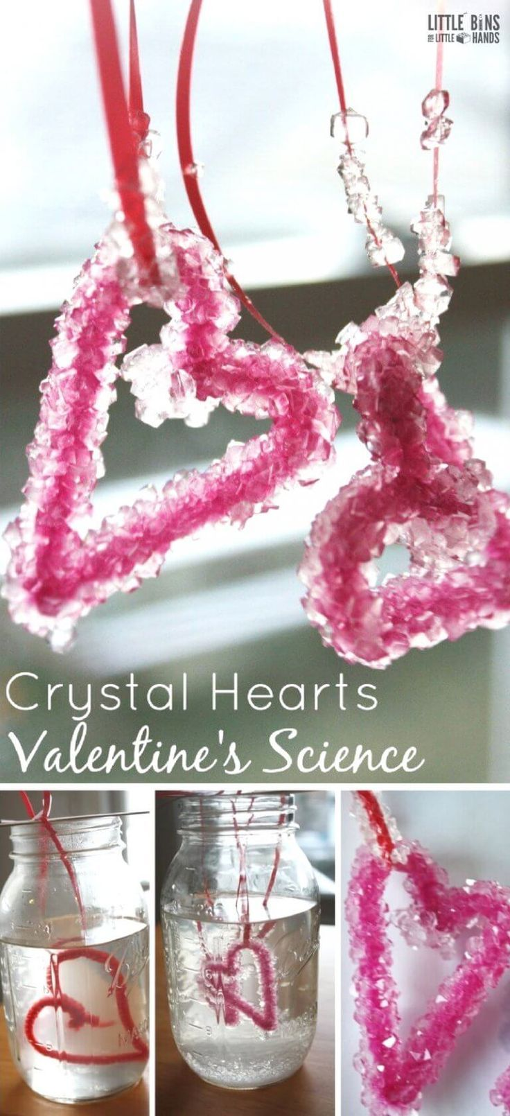 Growing crystals is actually pretty easy to do at home and makes a great science... 2