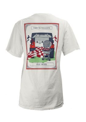 Royce Women's Ole Miss Wrangler Nation Comfort Tee - White - Xl