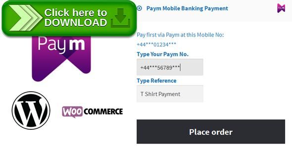 [ThemeForest]Free nulled download Paym Mobile Payment for WooCommerce from http://zippyfile.download/f.php?id=50534 Tags: ecommerce, britain, british pound, mobile banking, mobile banking payment solution, money, paym, payment, payment solution, pound, pound sterling, transaction, united kingdom, woocommerce, wordpress plugin