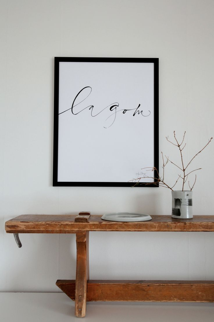 """Lagom"" Print: Ylva Skarp Photo: Susanne Kings"