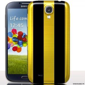Coque de Galaxy s 4 Us Racing / Housse rigide de protection. #SamsungS4 #USRacing #Samsung #Coque #Jaune
