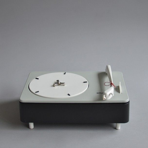Dieter Rams; PC3 Turntable for Braun, c1959.