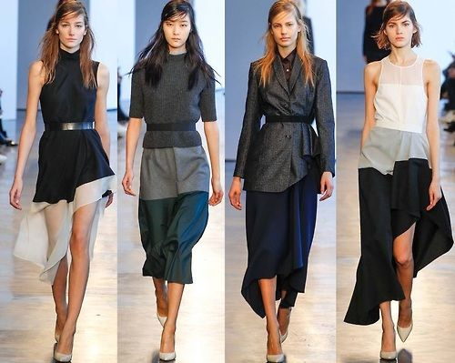 """From a new blog, North 7th & Bedford """"I LOVE the Fall Runway 2014 collection. It's hard to do simple as well as they do."""""""