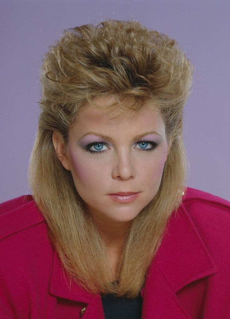 80s hairstyles for girls - 739×1024
