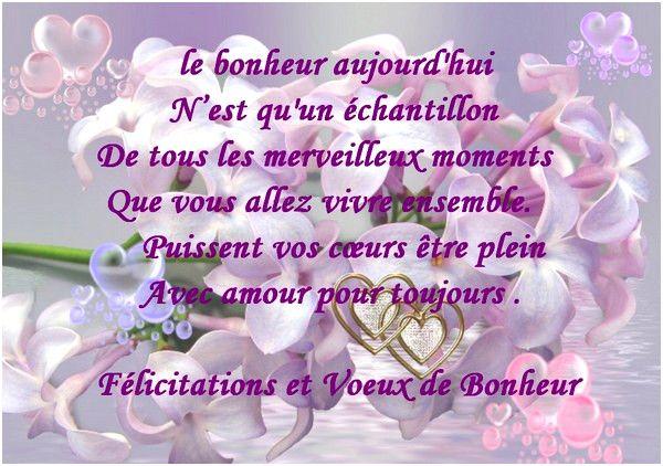 Mariage Texte Felicitation Mariage Lettre Felicitation