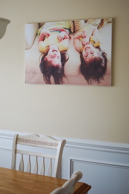 So doing this DIY!!!! Why buy Canvas prints for $$$ when you can do it yourself cheaper...