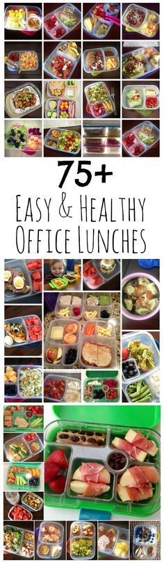 75+ Easy & Healthy Office Lunch Ideas from LauraFuentes.com