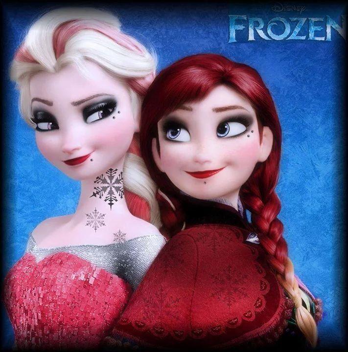 1000 images about la reine des neiges on pinterest - Anna elsa reine des neiges ...