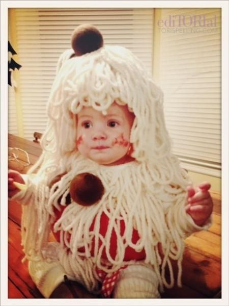 spaghetti meatballs costume Infant