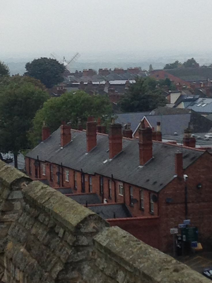 Ellis Mil from the Castle wall, Lincoln