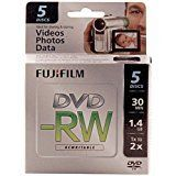 10 PCS Fujifilm 1.4GB Mini DVD-RW for Camcorder 25302425 #Fujifilm #Mini #Camcorder