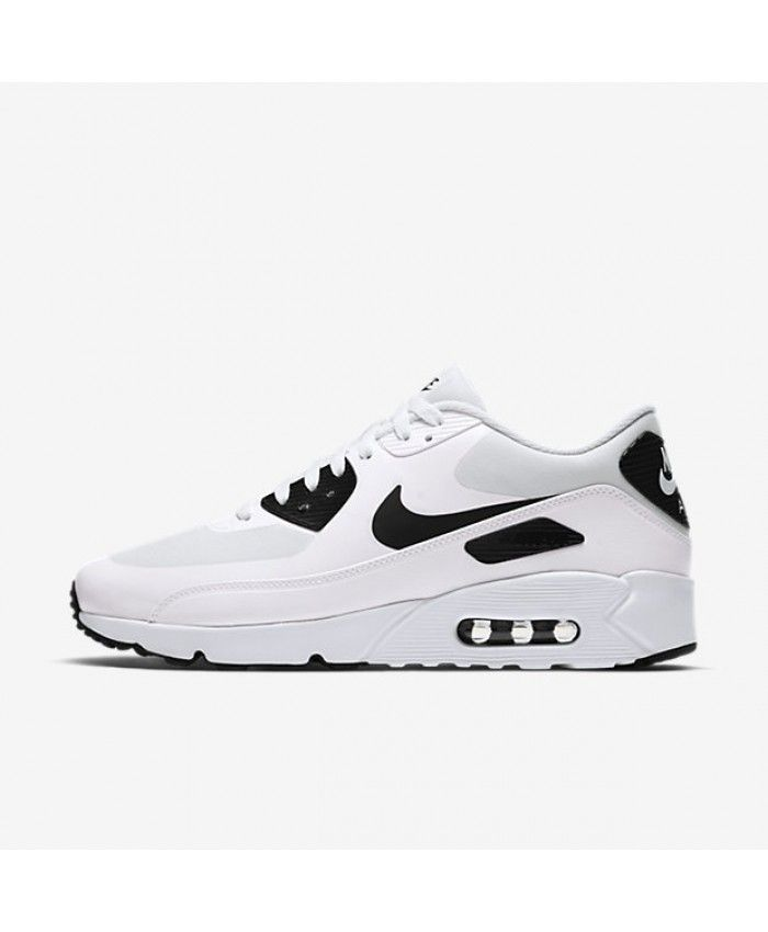 59639d564b4 Nike Air Max 90 Ultra 2.0 Essential White Black 875695 104 Outlet UK ...