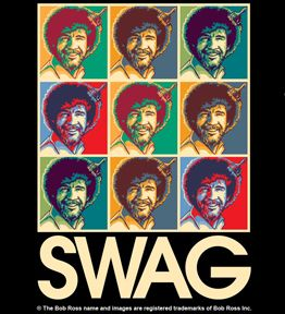 Bob Ross Swag - true story