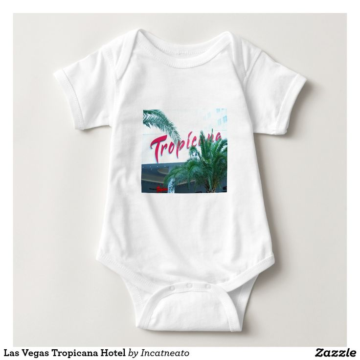 Las Vegas Tropicana Hotel Baby Bodysuit