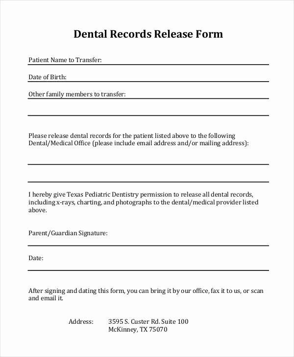 Medical Records Form Template Best Of Medical Records Release Form Texas Template Templates Medical Records Medical History Medical
