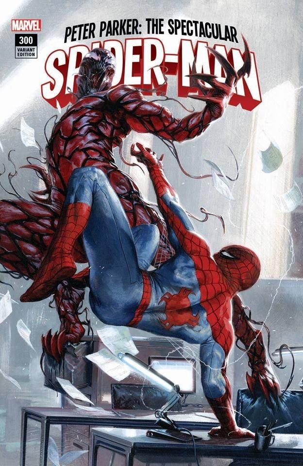 Peter Parker: The Spectacular Spider-Man #300 (2018) 7Ate9Comics, Frankie's Comics & Sad Lemon Comics Exclusive Variant Cover by Gabriele Dell'Otto