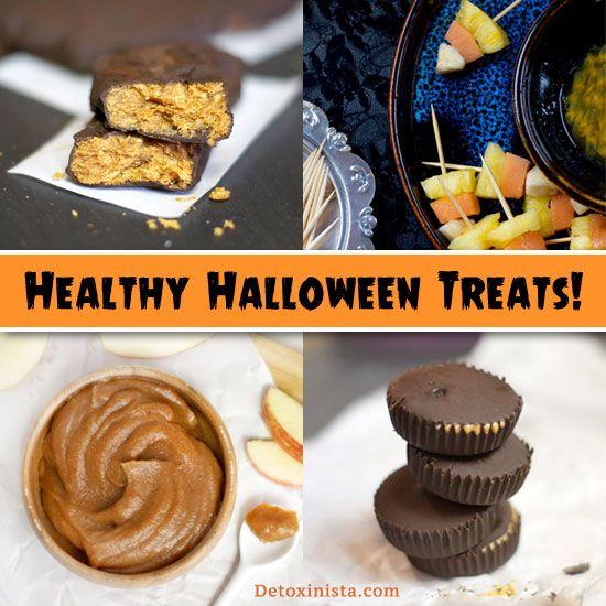 halloween healthy treats for school parties