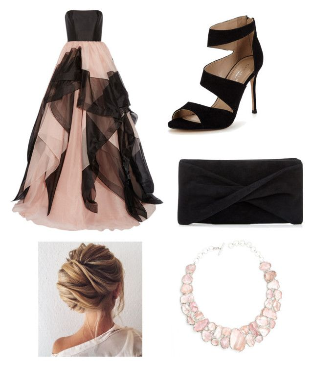 """""""Untitled #7"""" by agnes-18 on Polyvore featuring Reem Acra, Carvela, Reiss and Poppy Jewellery"""