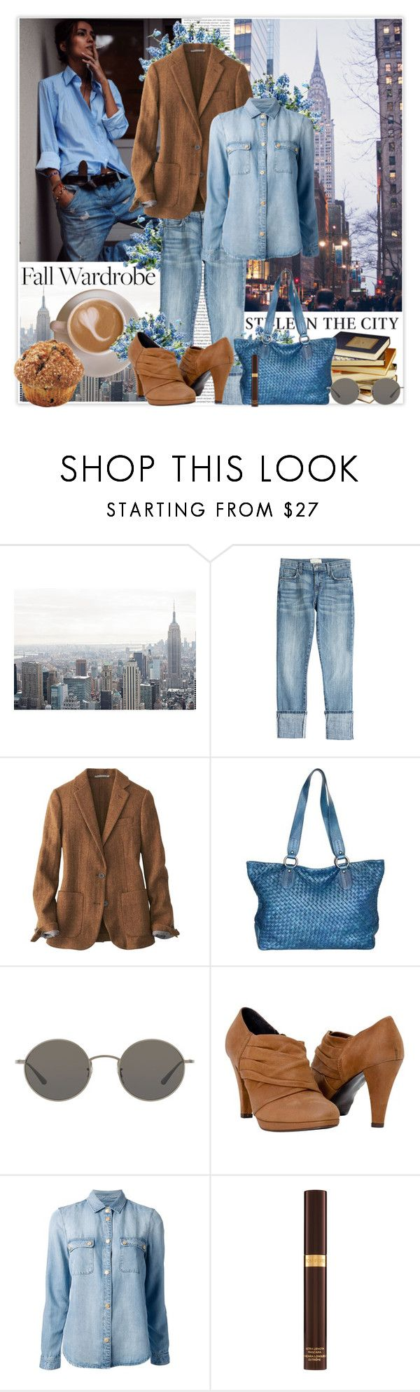"""M comme Mode de vie !!! 88"" by vicky-soleil ❤ liked on Polyvore featuring Oris, Current/Elliott, Public Library, Uniqlo, Nino Bossi Handbags, Oliver Peoples, 7 For All Mankind and Tom Ford"