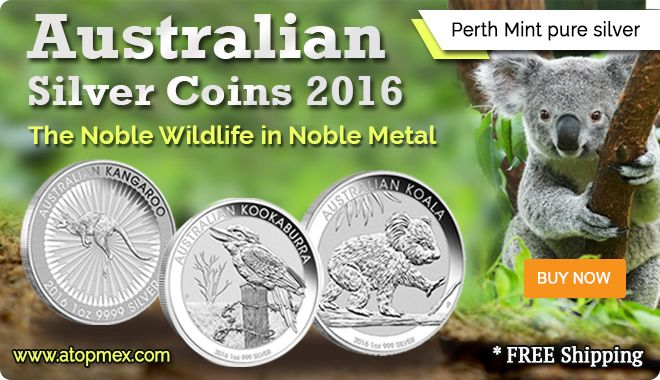 Perth Mint silver coins 2016   Atopmex.com https://atopmex.com/blog/the-noble-wildlife-in-noble-metal-australian-silver-coins-2016