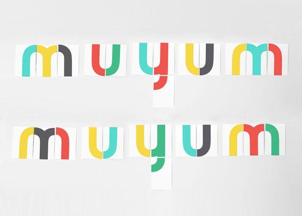 MUYUM healthy food for kids branding & editorial design