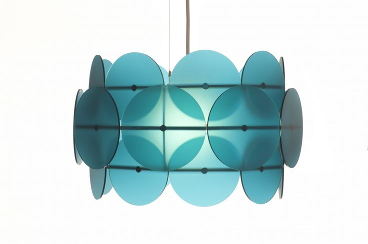 Azure blue - Dress Your Lamp