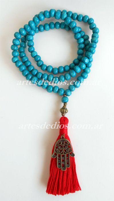 collar estilo rosario budista - Google Search