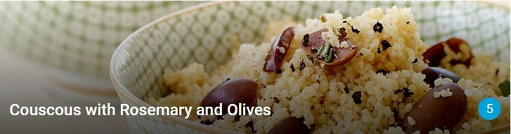 Couscous with Rosemary & Olives | Weight Watchers (login req'd)